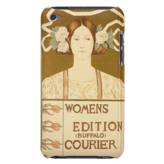 Reproduction of a poster advertising the 'Women's iPod Touch Cover