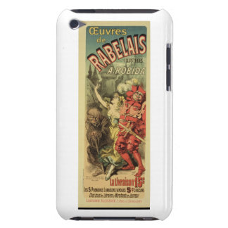 Reproduction of a poster advertising 'The Works of iPod Touch Cover