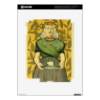 Reproduction of a poster advertising 'Van Houten C iPad 3 Skins