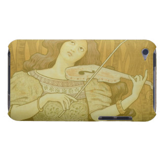 Reproduction of a poster advertising 'Violin Lesso Barely There iPod Case