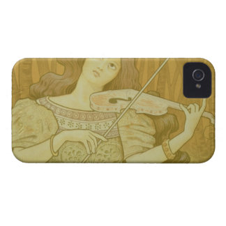 Reproduction of a poster advertising 'Violin Lesso iPhone 4 Case