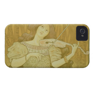 Reproduction of a poster advertising 'Violin Lesso iPhone 4 Cover