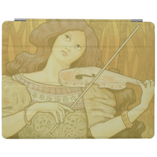 Reproduction of a poster advertising 'Violin Lesso iPad Cover
