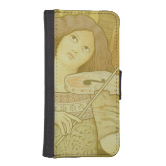 Reproduction of a poster advertising 'Violin Lesso Phone Wallet Case