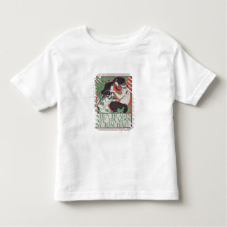 Reproduction of a poster advertising 'When Hearts Toddler T-shirt