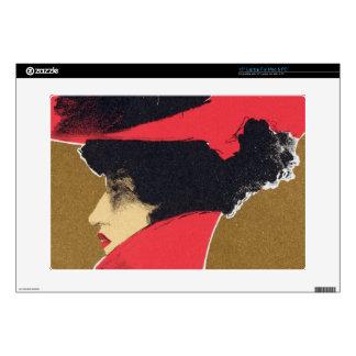 "Reproduction of a poster advertising 'Zlata Praha' 15"" Laptop Skin"