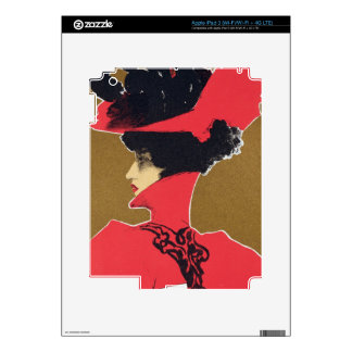 Reproduction of a poster advertising 'Zlata Praha' iPad 3 Skins