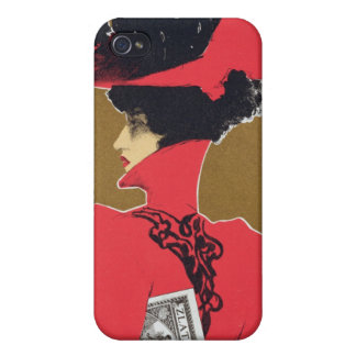 Reproduction of a poster advertising 'Zlata Praha' iPhone 4/4S Case