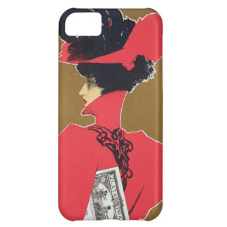 Reproduction of a poster advertising 'Zlata Praha' iPhone 5C Covers