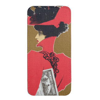 Reproduction of a poster advertising 'Zlata Praha' iPhone SE/5/5s/5c Pouch