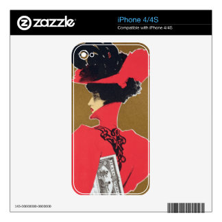Reproduction of a poster advertising 'Zlata Praha' Skin For The iPhone 4
