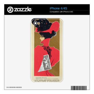 Reproduction of a poster advertising 'Zlata Praha' Skins For iPhone 4S