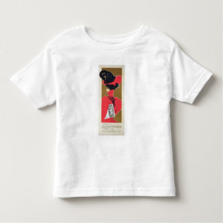 Reproduction of a poster advertising 'Zlata Praha' Toddler T-shirt