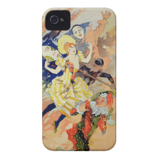Reproduction of a poster for a pantomime, 1891 (co iPhone 4 Case-Mate case