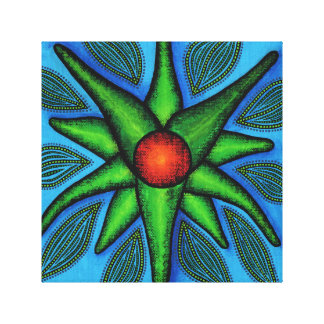 Reproduction of Fleur work Canvas Print