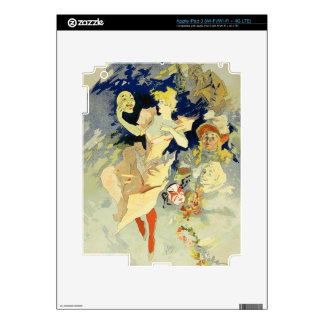 Reproduction of 'La Danse', 1891 (litho) Decals For iPad 3