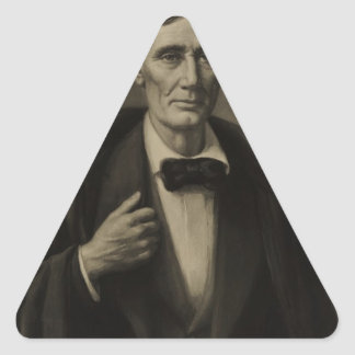 [Reproduction of oil painting by Williams Triangle Sticker