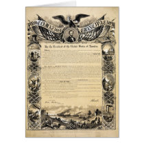 Reproduction of the Emancipation Proclamation