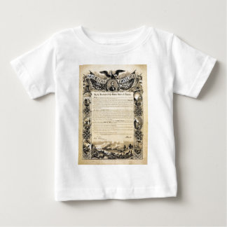 Reproduction of the Emancipation Proclamation Baby T-Shirt