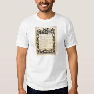 Reproduction of the Emancipation Proclamation Shirt