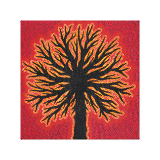 Reproduction of work abstract Tree Canvas Print