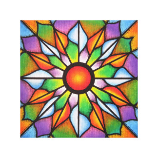 Reproduction on fabric of Luminous work Canvas Print