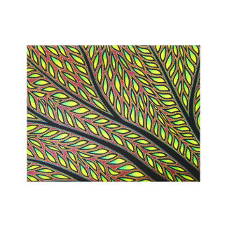 Reproduction on fabric of work Plant Canvas Print