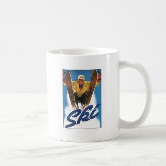 Reproduction Ski poster Coffee Mug