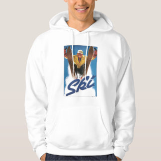 Reproduction Ski poster Hoodie
