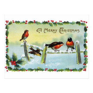 Reproduction Vintage Christmas Postcard