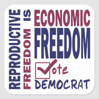 Reproductive Freedom Square Sticker