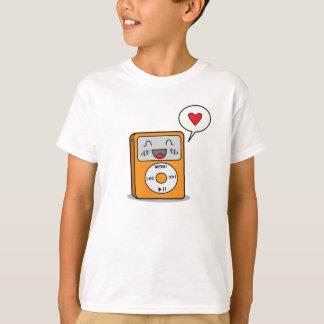 Reproductor Mp3 lindo - la camiseta del niño