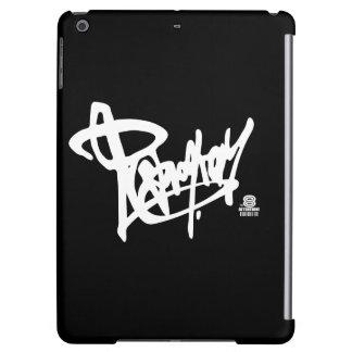 Reprogram street style Logo (white ver.) iPad Air Cover