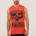 Reps For Jesus Sleeveless T-shirts