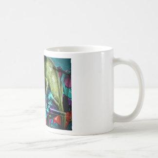 Reptil de la pintada taza