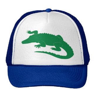 Reptil del cocodrilo del cocodrilo del cocodrilo gorras de camionero