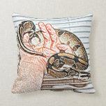 reptil disponible del bosquejo de la serpiente del cojines
