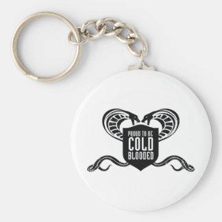 Reptil Logo_Cold Llavero Redondo Tipo Pin