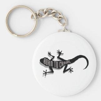 Reptil Logo_Crawl Llavero Redondo Tipo Pin