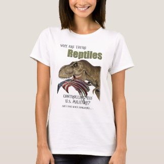Reptile Controlled Military T-Shirt