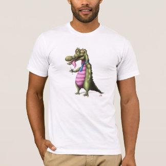Reptile enjoying Martini design on T-Shirt