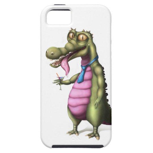 Reptile enjoying Martini iPhone SE/5/5s Case