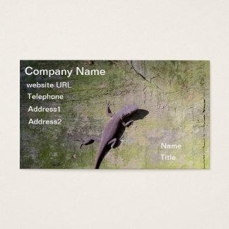 Reptile Lizard green Algae business Card Template
