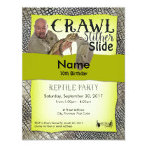 Reptile Party Invitations Off-Site Party