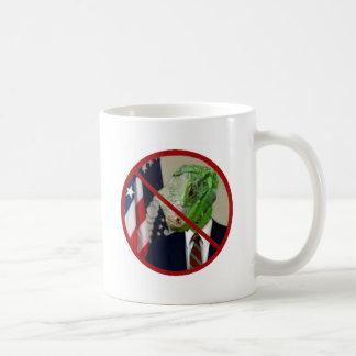 Reptile President Cup Classic White Coffee Mug