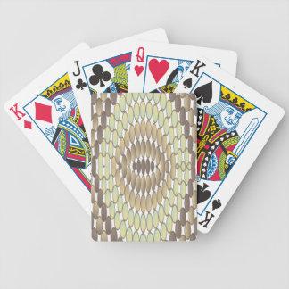 Reptile skin bicycle playing cards
