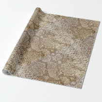 Reptile skin pattern wrapping paper