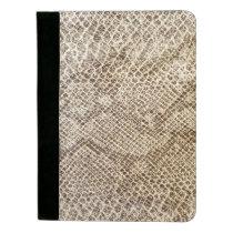 Reptile Skin Snake pattern Padfolio