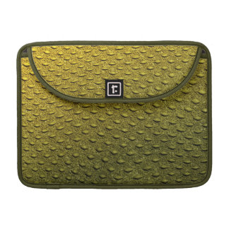reptile skin texture macbook sleeve