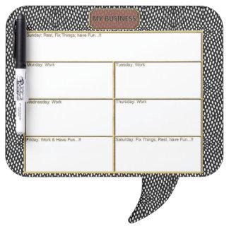 Reptile Square Speech Bubble Pen Dry Erase Board 2